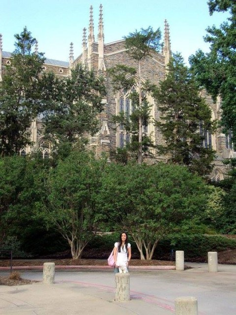 Duke University - lindo lugar para casamentos também!