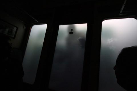 Um Dementor (Dementador) no corredor do Hogwarts Express