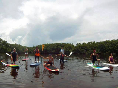 Stand up paddle em Tampa