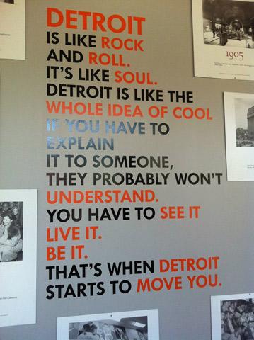 Detroit é cool