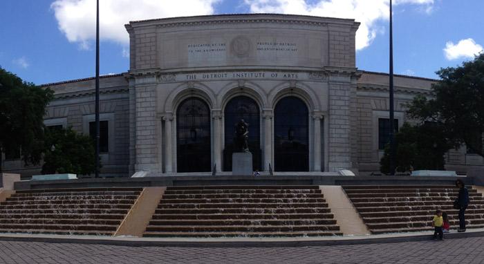 Midtown Detroit, a área dos museus