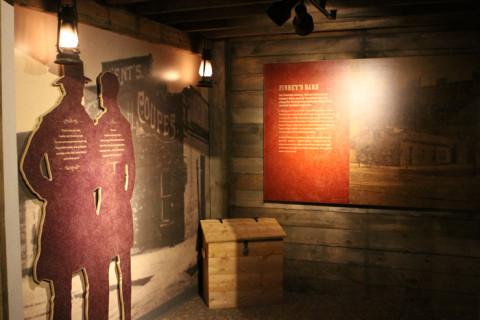 O segredo era a alma da Underground Railroad, que ajudou milhares de escravos fugidos a saírem do país