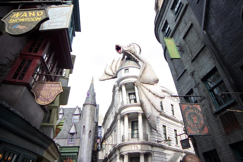 Diagon Alley no Universal Studios: a nova parte do Wizarding World of Harry Potter