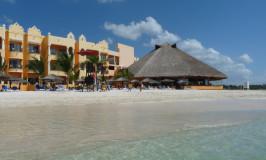 Dia perfeito em Playa del Carmen