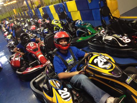 Diego do Coisas de Orlando no iDrive NASCAR