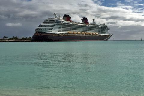 Disney Dream, na ilha da Disney nas Bahamas, Castaway Cay