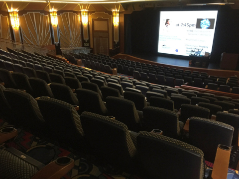 O cinema do Disney Dream: Buena Vista Theatre