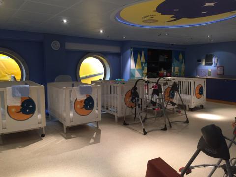 It's a Small World Nursery, a creche do Disney Dream. Foto: Lu Misura