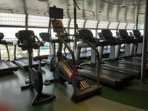 Fitness Center no Disney Dream