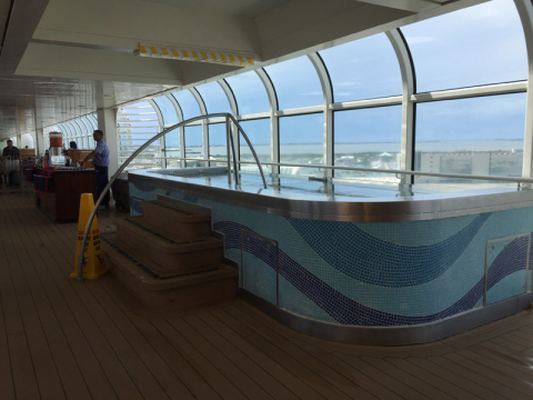 Hot tubs no Disney Dream