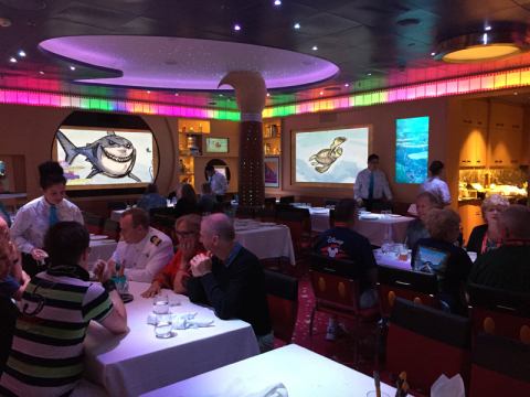 Animator's Palate no Disney Fantasy