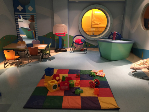 It's a Small World Nursery, a creche do Disney Fantasy