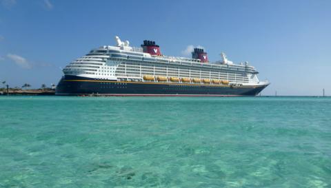 O Disney Fantasy em Castaway Cay