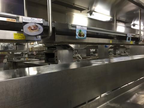 Galley tour: conhecendo as cozinhas do navio
