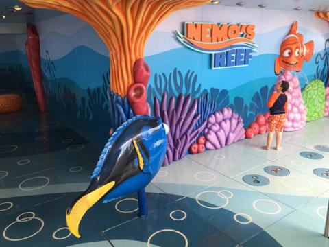 Nemo's Reef, pros pequeninos