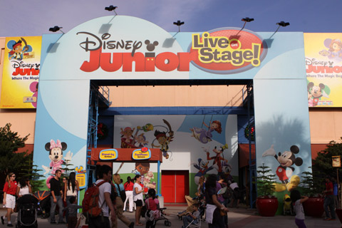 Entrada para o show Disney Jr Live on Stage