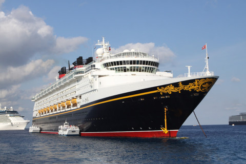 O Disney Magic em Grand Cayman, nas Ilhas Cayman