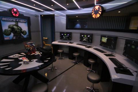 """Marvel Academy, um """"centro de controle"""" pra molecada brincar"""