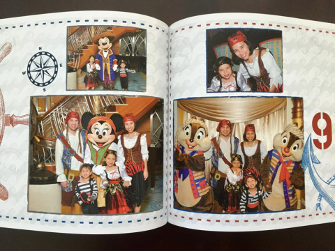 Nosso photobook do Disney Magic
