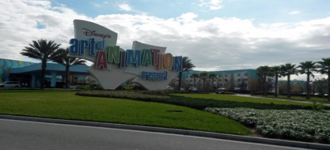 O Disney's Art of Animation Resort é o mais novo hotel econômico do complexo