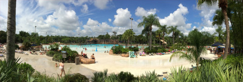 Panorama do Disney's Typhoon Lagoon