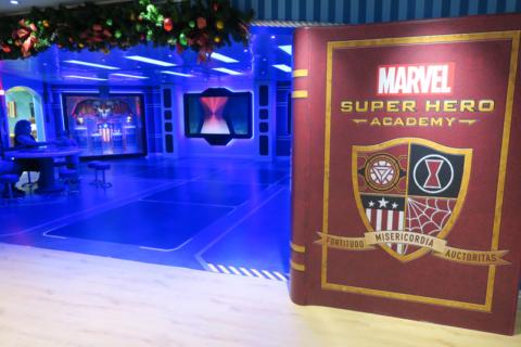 Academia Marvel no Disney Wonder reimaginado