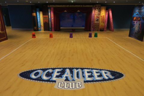 novo Oceaneer Club do Disney Wonder reimaginado