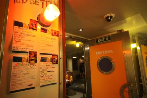 Essas fichas na parede são com as informações dos monitores que trabalham no clube