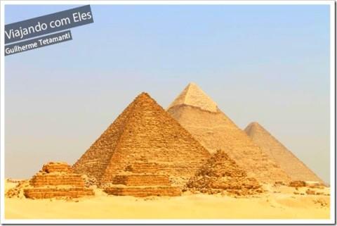 As Pirâmides estão sempre na nossa imaginação