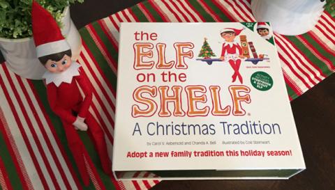 Kit que vem com o livro e o elf