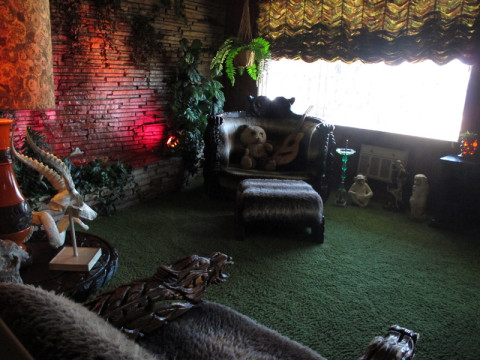 O Jungle Room em Graceland