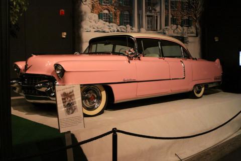 O famoso Cadillac Rosa