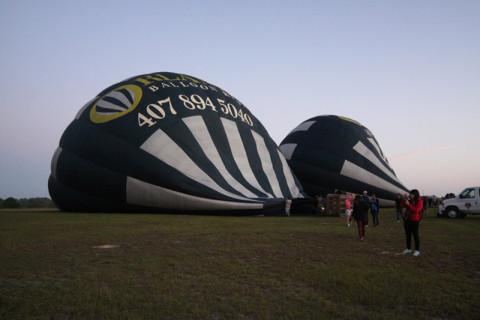 Enchendo o nosso balão e mais um