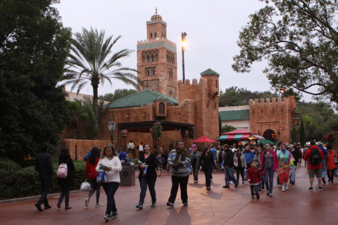 Chegando no Marrocos, World Showcase, Epcot