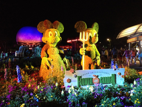 Mickey e Minnie anfitriões do Flower and Garden Festival
