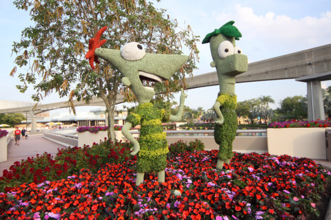Phineas e Ferb no Future World