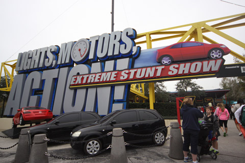 Entrada do Extreme Stunt Show