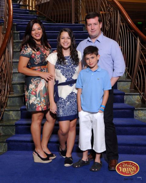 Foto de família um dia antes do jantar
