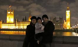 Chegando em Londres