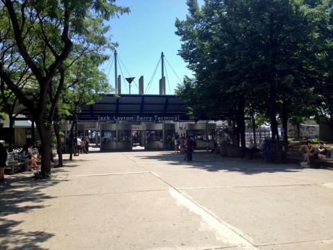 Jack Layton Ferry Terminal em Toronto