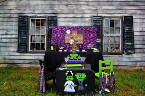 Festa de casamento do Frankenstein