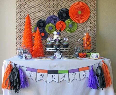 Festa de Halloween de corujas