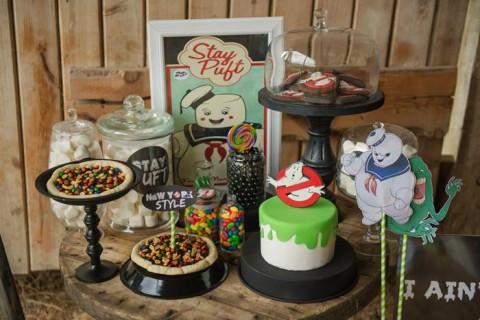Festa de Halloween Ghostbusters, os Caçadores de Fantasma