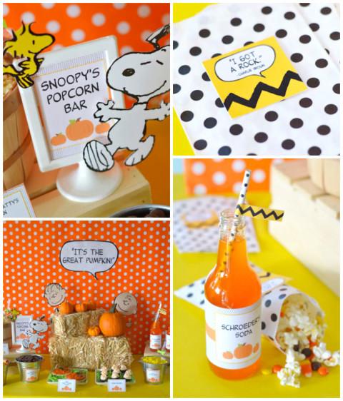 Festa de Halloween do Snoopy, Charlie Brown e toda a turma, uma graça