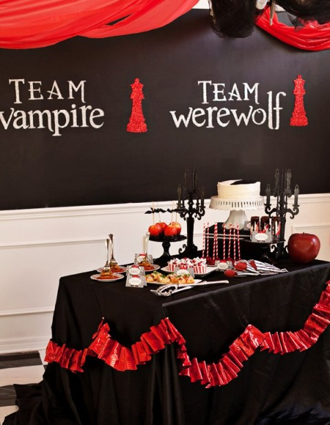 Festa de Halloween Twilight