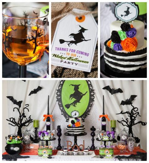 Festa de Halloween Wickedly Sweet: adorei o bolo