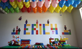 Festa de Lego do Eric
