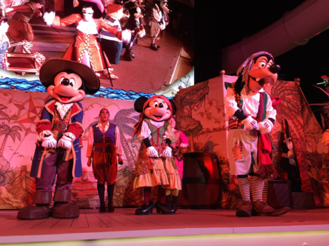 Festa dos Piratas no Disney Fantasy