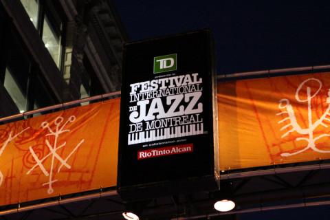 Chegando ao Festival de Jazz de Montréal