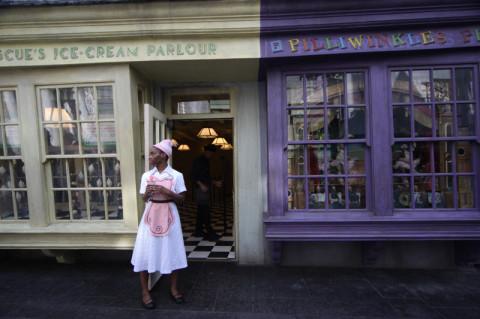 Florean Fortescue Ice Cream Parlor